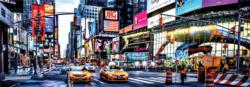 Times Square New York Panoramic Puzzle