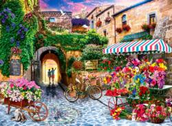 The Flower Market Flowers Jigsaw Puzzle