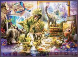 Dino Toys Come Alive Dinosaurs Jigsaw Puzzle