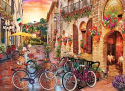 Biking in Tuscany Italy Jigsaw Puzzle