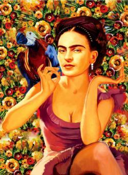 Frida Kahlo Fine Art Jigsaw Puzzle