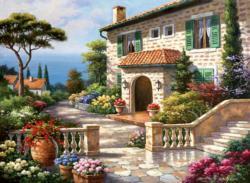 Villa Delle Fontana Cottage / Cabin Jigsaw Puzzle