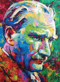 Mustafa Kemal Ataturk 2018 People Jigsaw Puzzle