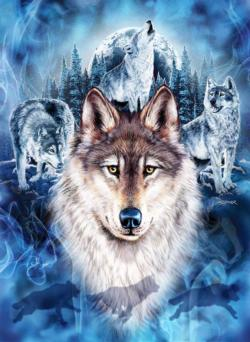 Wolf Team Forest Jigsaw Puzzle