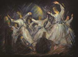 Dervishes Dance Jigsaw Puzzle