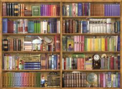 Bookshelves Everyday Objects Jigsaw Puzzle