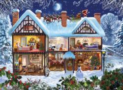 Seasons House Christmas Jigsaw Puzzle