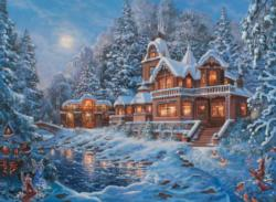 Winter Magic Landscape Jigsaw Puzzle