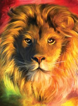 The Lion - Scratch and Dent Lions Jigsaw Puzzle