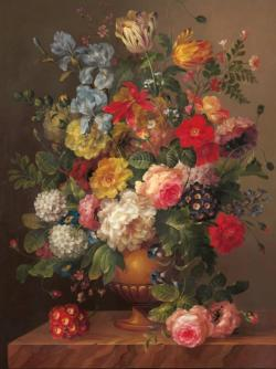 Classic Bouquet Flowers Jigsaw Puzzle