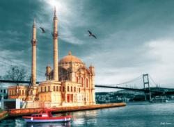 Ortakoy Mosque Lakes / Rivers / Streams Jigsaw Puzzle