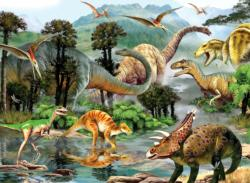 Dino Valley 2 Dinosaurs Jigsaw Puzzle