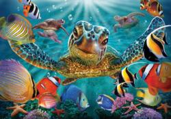 Tiny Bubbles Under The Sea Jigsaw Puzzle