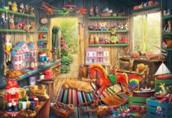 Toy Makers Shed Nostalgic / Retro Jigsaw Puzzle