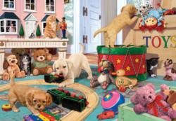 Puppies Play Time Dogs Jigsaw Puzzle