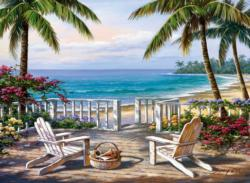 Coastal View Mother's Day Jigsaw Puzzle