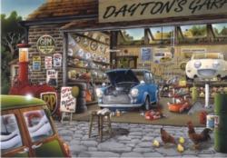 Dayton's Garage Cars Jigsaw Puzzle