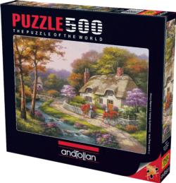 Spring Cottage Cottage/Cabin Jigsaw Puzzle