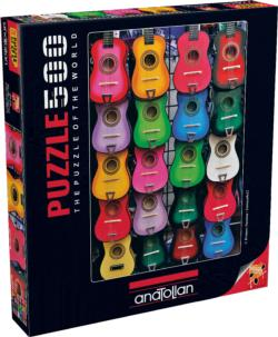 Colored Of Music Pattern / Assortment Jigsaw Puzzle