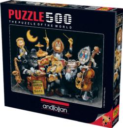 The New Nairobi Jazz Band Music Jigsaw Puzzle