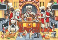 Kool Kat Kuisine Food and Drink Jigsaw Puzzle