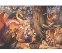 Confabulation of Dragons Dragons Jigsaw Puzzle