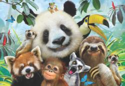 Zoo Selfie Animals Jigsaw Puzzle
