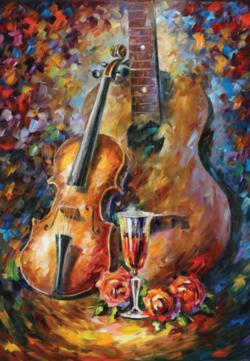 Guitar and Violin Music Jigsaw Puzzle