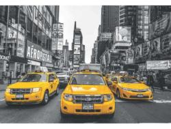 New York Taxi Monochromatic 2000 and above