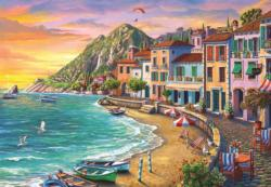 Wonderful Beach Seascape / Coastal Living Jigsaw Puzzle