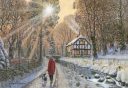 Winter Woodland Winter Jigsaw Puzzle
