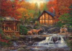 The Colors Of Life Deer Jigsaw Puzzle