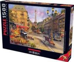 Paris Street Life Paris Jigsaw Puzzle