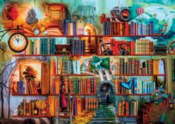 Mystery Writers Bookshelves Jigsaw Puzzle