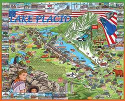 Lake Placid, NY Lakes / Rivers / Streams Jigsaw Puzzle