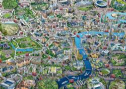Map of London London Jigsaw Puzzle