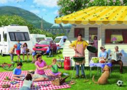 Family Holiday Picnic Jigsaw Puzzle