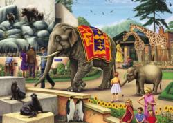 A Day at the Zoo Jungle Animals Jigsaw Puzzle