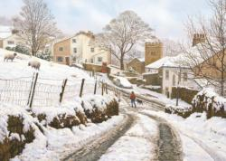 Newchurch-in-Pendle Winter Jigsaw Puzzle