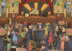 Tea Dance Nostalgic / Retro Jigsaw Puzzle