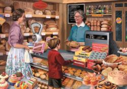 Mrs. Crompton's Bakery Shopping Jigsaw Puzzle