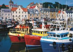 Fife Harbour Seascape / Coastal Living Jigsaw Puzzle