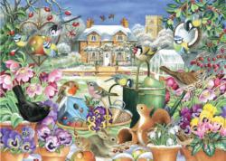 Winter Garden Garden Jigsaw Puzzle