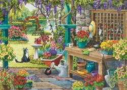 Garden in Bloom Cartoons Large Piece
