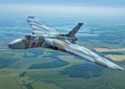 Vulcan Bomber Military Jigsaw Puzzle