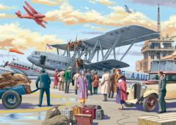 Croydon Airport Nostalgic / Retro Jigsaw Puzzle