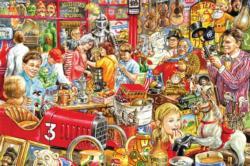 Hidden Gems Nostalgic / Retro Jigsaw Puzzle