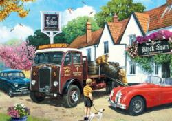 The Delivery Round Nostalgic / Retro Jigsaw Puzzle
