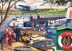 Empire Flying Boats Nostalgic / Retro Jigsaw Puzzle