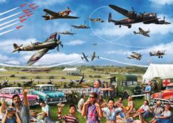 Family Airshow Nostalgic / Retro Jigsaw Puzzle